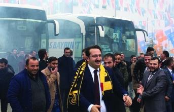 AK Parti'nin adayı Fatih Yumak