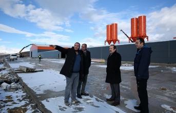 EPS Blok Fabrikası üretime geçmek için gün sayıyor