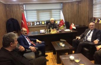 MHP'den Gazeteciler Cemiyetine ziyaret