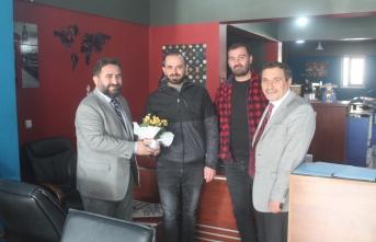 Müftü Başoğlu'ndan gazetemize ziyaret