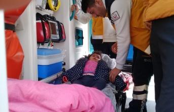 Bayburt'ta hasta çocuğa 3 saatte ulaşıldı