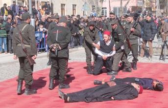 Kahramanlar diyarı Bayburt'ta 21 Şubat coşkusu