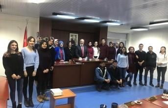 Kamu Yönetimi Öğrencileri Mecliste