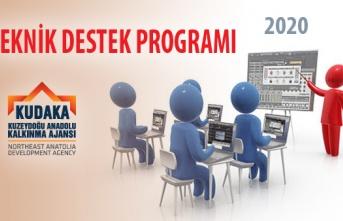 KUDAKA 2020 Yılı Teknik Destek Programı Açıklandı