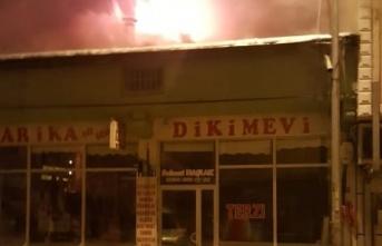 Bayburt'ta dün Gece Yangın Paniği