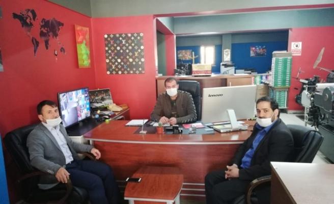 HÜDAPAR'dan Gazetemize Ziyaret