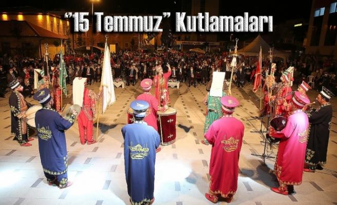 Bayburt'ta ''15 Temmuz Demokrasi ve Milli Birlik'' Günü Kutlamaları