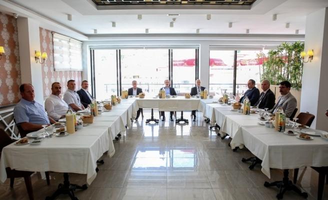 Vali Yardımcısı Remzi Demir İle Aydıntepe ve Demirözü Kaymakamları İçin Veda Yemeği Düzenlendi