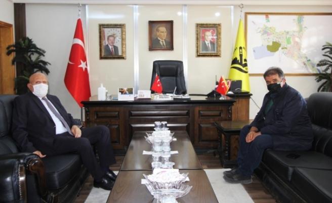 Milletvekili Battal'dan Başkan Pekmezci'ye Ziyaret