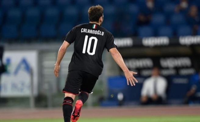 Bayburtlu Hakan Çalhanoğlu sezonun ilk maçının en iyisi seçildi