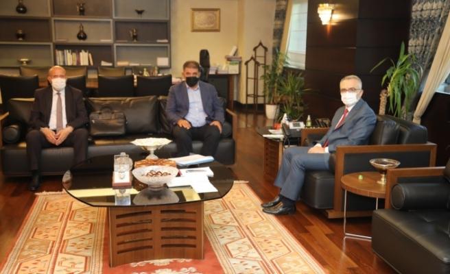 Milletvekili Battal ve Belediye Başkanı Pekmezci 'den Strateji ve Bütçe Başkanı  Ağbal'a Ziyaret