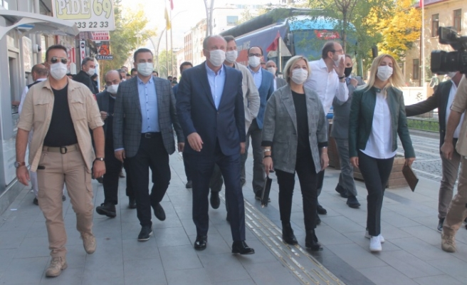 Eski CHP Milletvekili Muharrem İnce Bayburt'ta