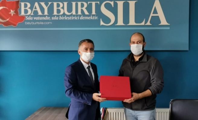 İletişim Başkanlığı Erzincan Bölge Müdürü Yahya Tekin'den Bayburt Basınına Ziyaret