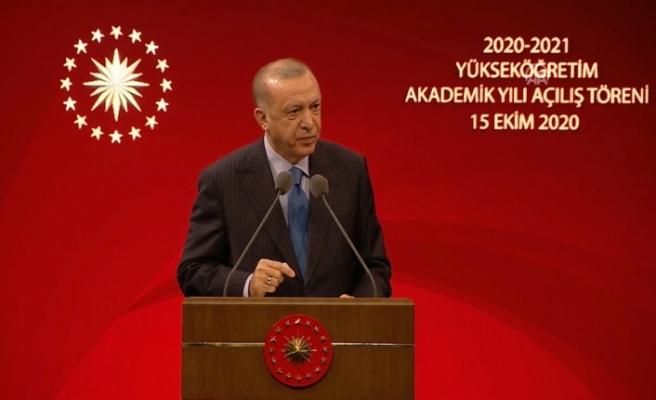 Rektör Coşkun Cumhurbaşkanlığı Külliyesi'nde Gerçekleştirilen Yeni Akademik Yıl Açılış Törenine Katıldı
