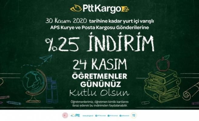 PTT'DEN ÖĞRETMENLER GÜNÜ'NE ÖZEL İNDİRİM SÜRPRİZİ