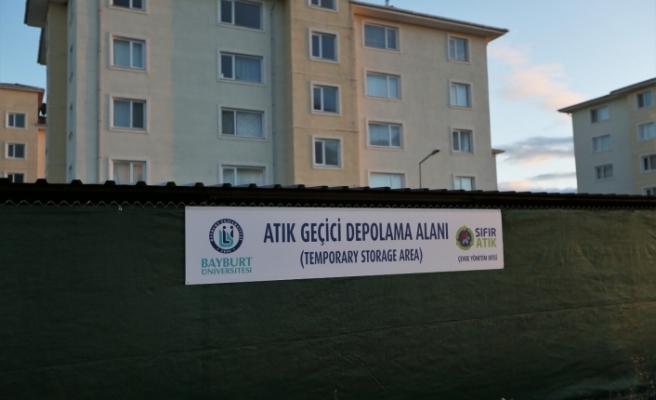 """Bayburt Üniversitesi """"Sıfır Atık Belgesi"""" Almaya Hak Kazandı"""