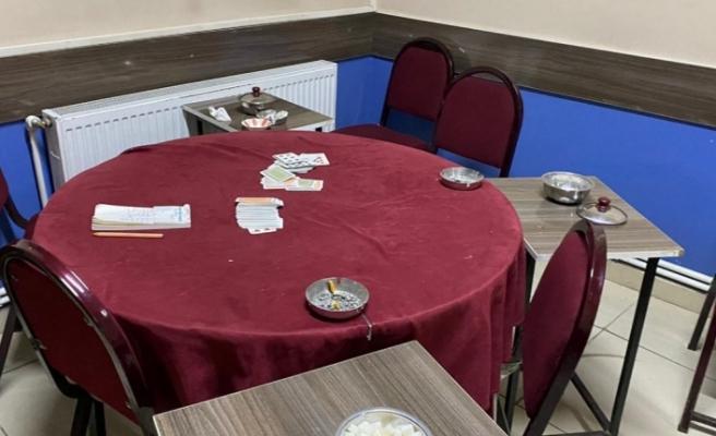 Kahvehanede Yakalanan 12 kişiye 37.800 TL İdari Para Cezası Uygulandı