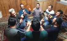 Bayburt'ta asırlık kış geleneği sürdürülüyor