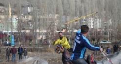 Bayburt'ta ata sporu cirit yaşatılıyor