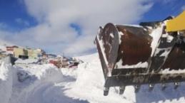 Kapalı köy yolları açıldı