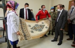 Bayburt Valisi Epcim, Aydıntepe ilçesini ziyaret...