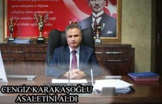 Cengiz Karakaşoğlu Asaletini Aldı