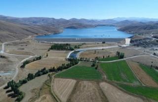 Demirözü Sulama Projesi ile 112 bin 600 dekar tarım...