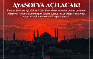 MTTB Bayburt İl Başkanlığı Ayasofya Camii Basın...