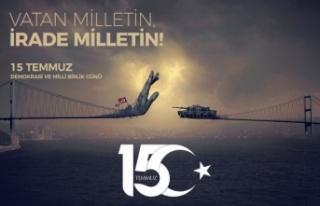 """15 Temmuz Gazisi Can GÜLSEVER: """"Cesaretimizi Sayın..."""