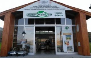 Bayburt Organik Ürünler Pazarı Açıldı