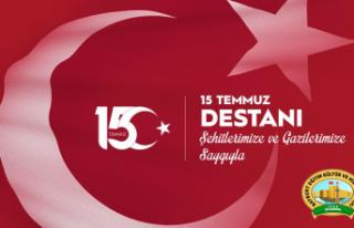 Bayburt Vakfından 15 Temmuz Demokrasi ve Milli Birlik...