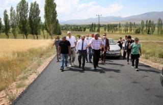 Vali Cüneyt Epcim, Aydıncık Köyü'nde Yürütülen...