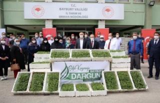 """Vali EPCİM: """"Tarhun'u Bayburt'un Markası..."""