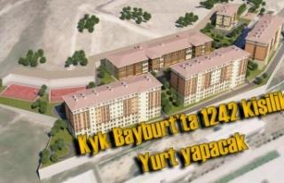Bayburt'ta 1242 Kişilik Yurt Yapılacak