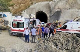 Kop Dağı Tüneli inşaatında patlama: 11 yaralı