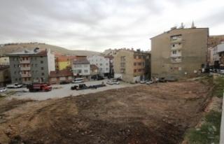 Veli Şaban Mahallesi Otoparkı'nın Yapımına...