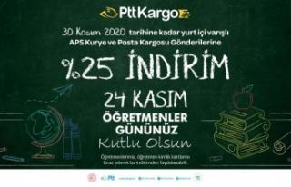 PTT'DEN ÖĞRETMENLER GÜNÜ'NE ÖZEL İNDİRİM...