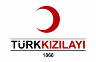 Bayburt'ta Türk Kızılay'ı Gönüllüleri,...