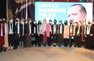 AK Parti Bayburt Kadın Kolları Başkanlığına...