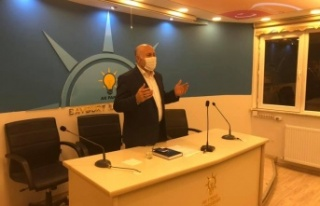 AK Parti Yeni Yönetim Kurulu ile İlk Toplantısını...