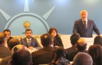 AK Parti bayburt il danışma meclisi toplantısını gerçekleştirdi