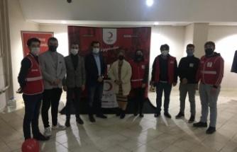 Türk Kızılıyı'ndan Demirözünde İyilik Hareketi