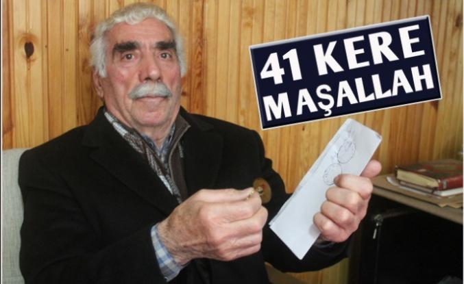 41 yıllık muhtar 9'uncu kez seçildi