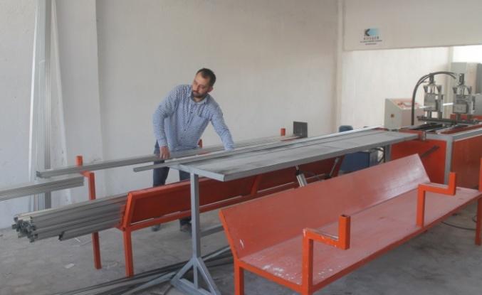 KOSGEB desteğiyle açtığı iş yeriyle bölgenin ihtiyacını karşılıyor