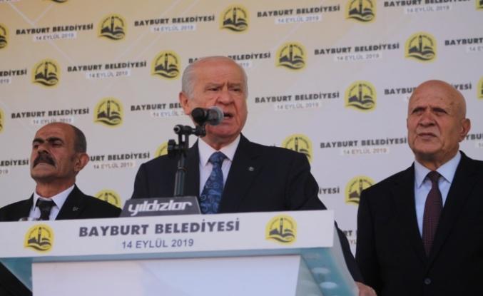 Milliyetçi Hareket Partisi Bayburt'u yükseltmeye kararlıdır
