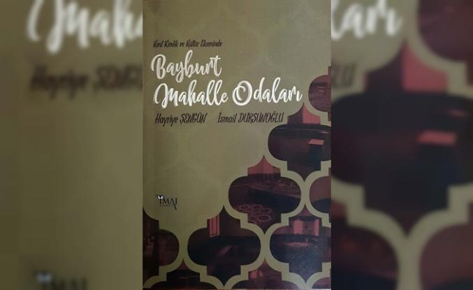 Mahalle Odası Kültürü kitaplaştı